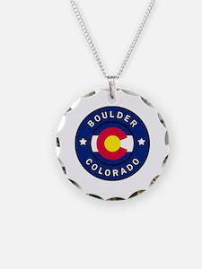 Cute Boulder colorado Necklace