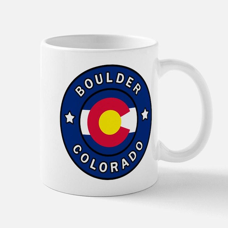 Boulder Colorado Mugs
