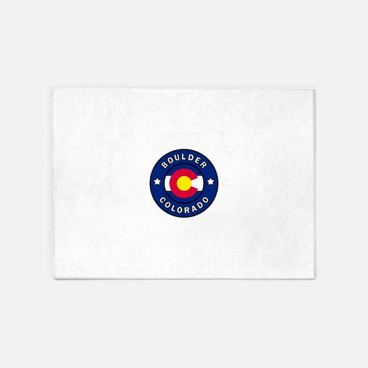 Boulder Colorado 5'x7'Area Rug