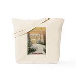 Love Under the Mistletoe Tote Bag