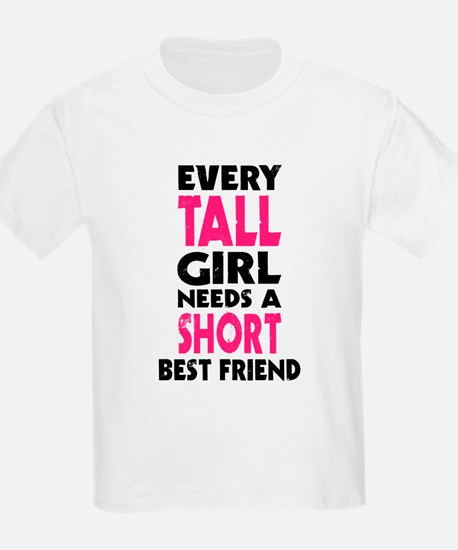 (TALL GIRL - SHORT GIRL) BFF T-Shirt