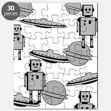 Funny Robots Puzzle