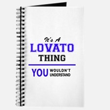 It's LOVATO thing, you wouldn't understand Journal