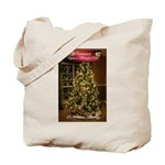 Midnight Clear/Mistletoe Tote Bag