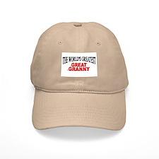 """The World's Greatest Great Granny"" Baseball Cap"