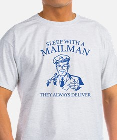 Sleep With A Mailman T-Shirt
