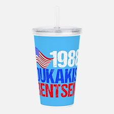 Dukakis 1988 Election Acrylic Double-wall Tumbler