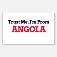 Trust Me, I'm from Anguilla Decal