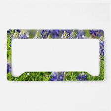 Unique Wildflowers License Plate Holder