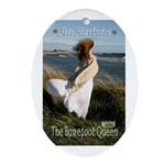 The Barefoot Queen Oval Ornament