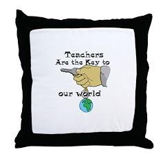 Teacher Appretiation Throw Pillow