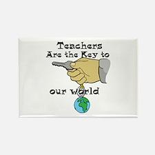 Teacher Appretiation Rectangle Magnet (100 pack)