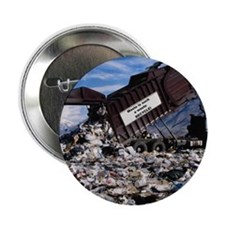 "Waste is such a waste 2.25"" Button (10 pack)"