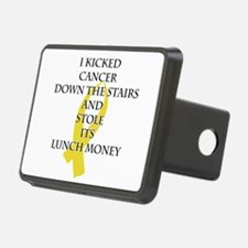Cancer Bully (Gold Ribbon) Hitch Cover