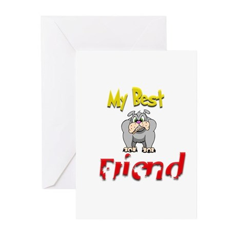 My Best Friend.:-) Greeting Cards (Pk of 10)