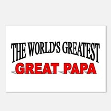 """The World's Greatest Great Papa"" Postcards (Packa"