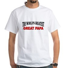 """The World's Greatest Great Papa"" Shirt"