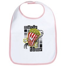 Movie Time @ eShirtLabs.Com Bib
