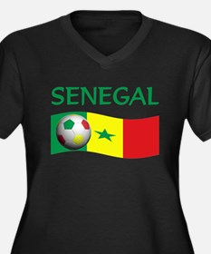 team SENEGAL world cup Women's Plus Size V-Neck Da