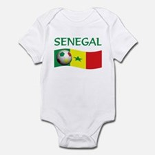 team SENEGAL world cup Infant Bodysuit