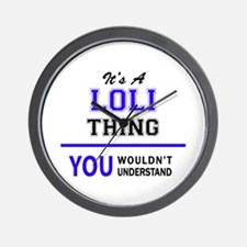 It's LOLI thing, you wouldn't understan Wall Clock