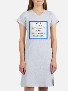 slots Women's Nightshirt