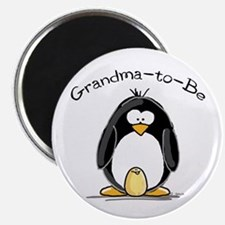 Grandma to Be Penguin Magnet