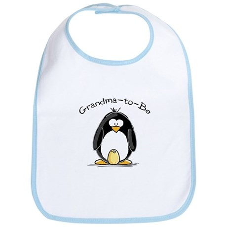 Grandma to Be Penguin Bib