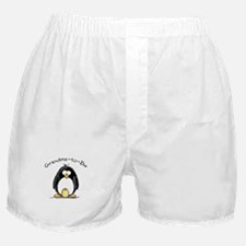Grandma to Be Penguin Boxer Shorts