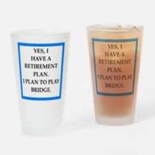 bridge Drinking Glass