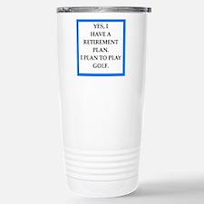 golfer Travel Mug