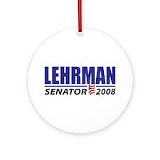 Leland Lehrman Ornament (Round)