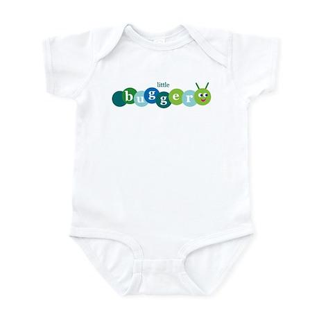 Little Bugger Infant Bodysuit blue/green