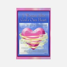 A Woman After God's Heart magnet