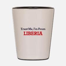Trust Me, I'm from Libya Shot Glass