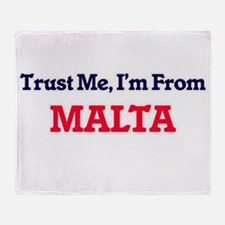 Trust Me, I'm from Mariana Throw Blanket