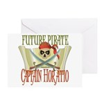 Captain Horatio Greeting Card