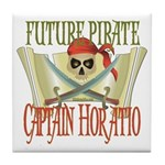 Captain Horatio Tile Coaster