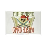 Captain Horatio Rectangle Magnet (100 pack)