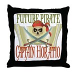 Captain Horatio Throw Pillow