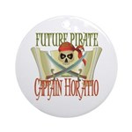 Captain Horatio Ornament (Round)