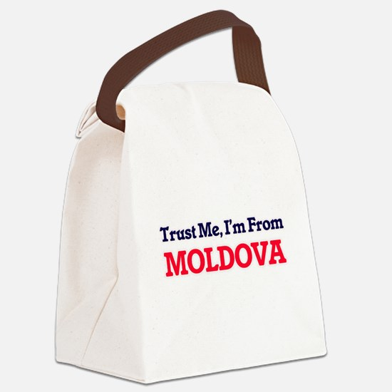 Trust Me, I'm from Monaco Canvas Lunch Bag