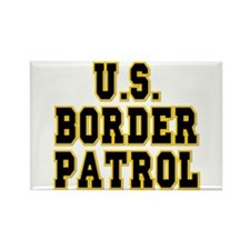 U.S. Border Patrol Rectangle Magnet
