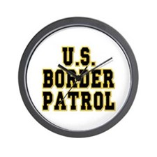 U.S. Border Patrol Wall Clock