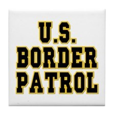 U.S. Border Patrol Tile Coaster