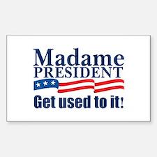 MadamePresident Decal