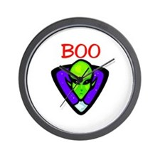 BOO ALIEN Wall Clock