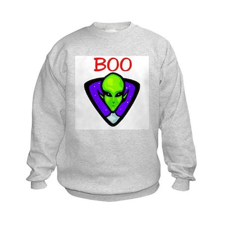 BOO ALIEN Kids Sweatshirt