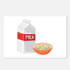 Milk and Cereal Postcards (Package of 8)