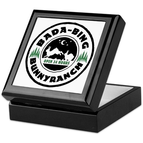 Bada-Bing Bunnyranch Keepsake Box